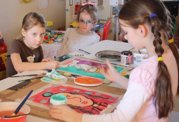Art Teacher Caoimhe O'Dwyer